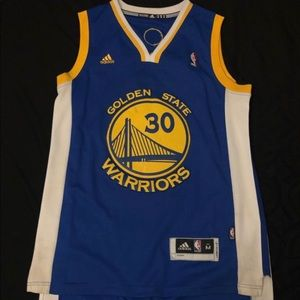 Steph Curry Jersey - GSW - Adidas Mens Medium